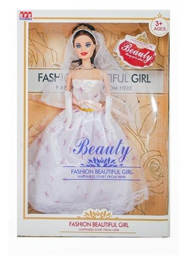 Efe Efe Oyuncak Beauty Fashion Gelin Bebek Beyaz